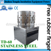 TD-60 automatic stainless steel poultry plucker machine chicken feather cleaning machine