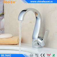 Beelee Wholesale Chrome Plated Single Handle Bathroom Wash Hand Basin Tap
