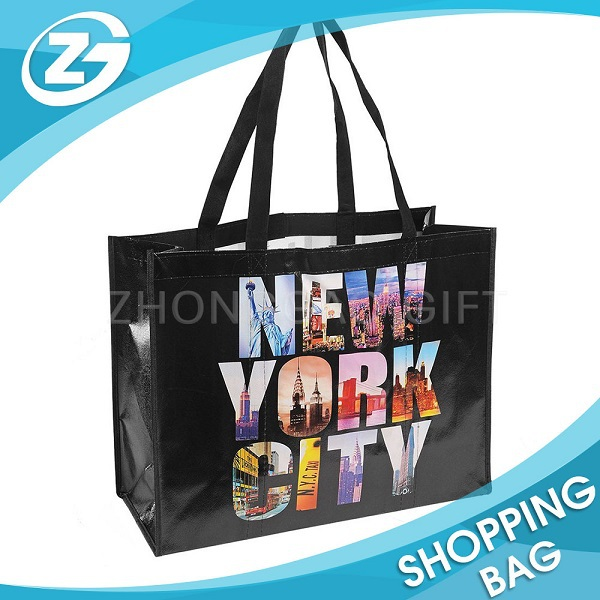 Hot Sale Cheap PP Laminated Promotional Tote Wholesale Nonwoven Bag