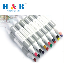 159 mm simple design fine point permanent marker