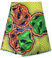 African wax prints fabric 6 yards veritable for women dress 2016