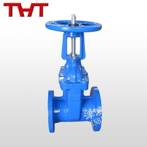 resilient seat rising spindle double wedge pn16 gate valve