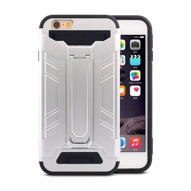 Phone cover for iPhone 7 robot case / shockproof mobile shell for iPhone 7 gel kickstand case / for iPhone 7 superman case