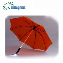 Pongee Material Safety New Inventions Customized LED Umbrella Light