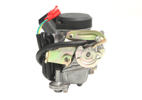 20mm Big Bore Carb CVK Keihin Carburetor for Chinese GY6 50cc 60cc 80cc 100cc 139QMB 139QMA scooter Moped ATV