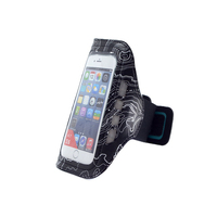 Armband cell phone case with led light For iPhone 6 / S5 / S4