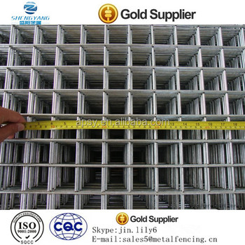 Square hole wire mesh/welded wire mesh panel/cheap wire panel