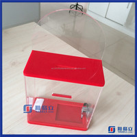 Yageli OEM trade assurance trust worthy supplier wholesale acrylic donation box