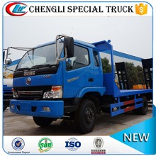 Hot sell Dongfeng Mini 4x2 120hp 6 wheel 3 ton Flatbed Truck for sale