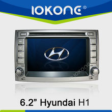 6.2'' HD Touch screen Car DVD player 3G RDS function for Hyundai H1 2012 with GPS navigation