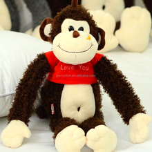 Rubber monkey toy hot sales factory price ,big size long arms monkey toy