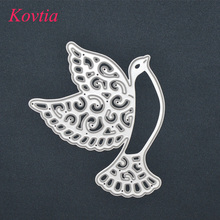 Factory Customized Various Shape Dove Of Peace Popular Metal Cutting Die Etch Stencils Paper Decor Album