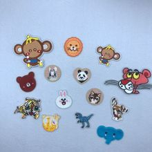 Embroidery Animal Cute iron on Patches For kids clothing