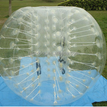 PVC/TPU bubble football,hot sale popular inflatable bumper ball for kids human hamster ball for sale