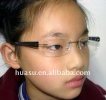 2011 fashion rimless eyeglass frame