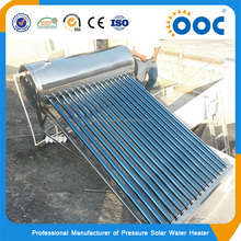 Heater Spare Parts Non-Pressurized Heating System Non Pressured Solar Water Heaters