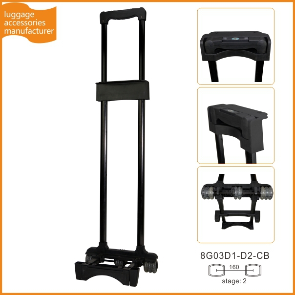 Luggage Trolley Attachment Detachable Luggage Handle For Suitcase Trolley