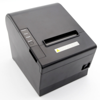 80mm Serial usb pos restaurant thermal receipt printer pos 80 with auto cutter for Department Stores pos terminal