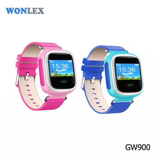 Wonlex 2016 GPS Smart Watch For Children GSM+GPS+LBS location child gps bag