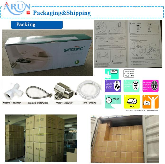 packing of bidet