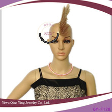 fake brown synthetic spike Mohawk hair wigs