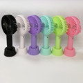 Portable usb rechargeable handheld fan mini electrical usb table fan with 18650 lithium battery