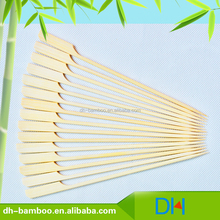 Natural eco-friendly Disposable Gun Shaped BBQ skewer Japanese Bamboo Craft Stick Wholesale