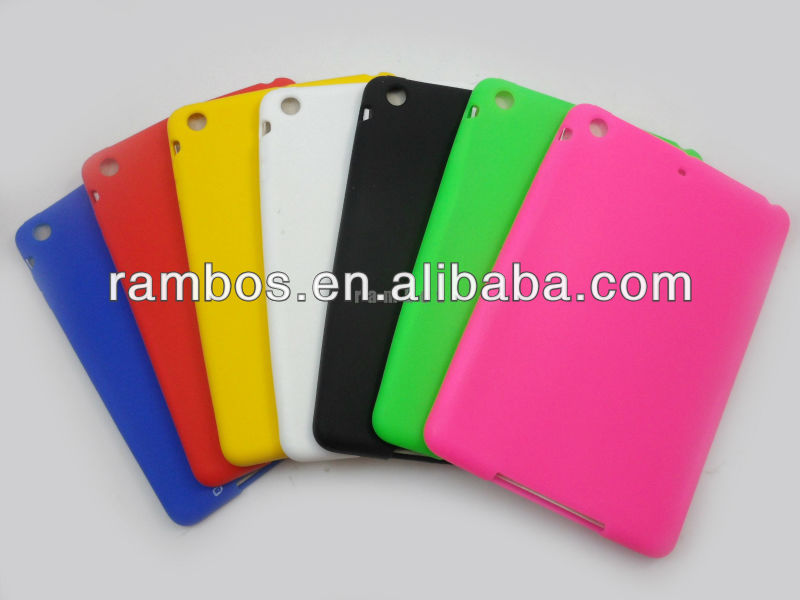 Back Silicone Protective Cover Rubber case for iPad mini 7 Colors