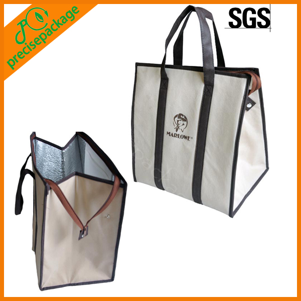promotional new style hot sale non woven insulated thermal wine cooler carrier bag