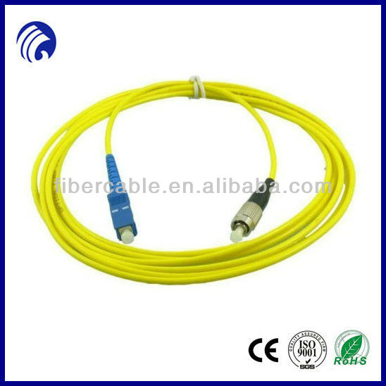 Supply FC-SC PVC fiber patch cables /jumpers
