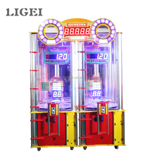 Popular indoor play equipment lottery jackpot game machine double pinball adult game machine for game center