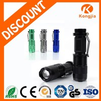 3W XPE Led Bulb Portable Zoom Ultra Bright Aluminium Alloy RechargeableLed Flashlight Torch Brinyte Flashlights