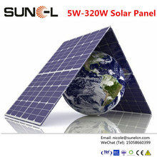 solar cells high efficiency for solar panel 120wp-320wp