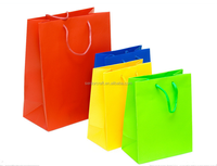 Colorful packing all kind of paper custom bag