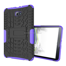 OEM protective rugged hybrid armor back cover tablet case for Samsung T580