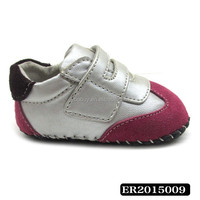 High-class crochet knitting shoes for babies genuine leather baby footwear