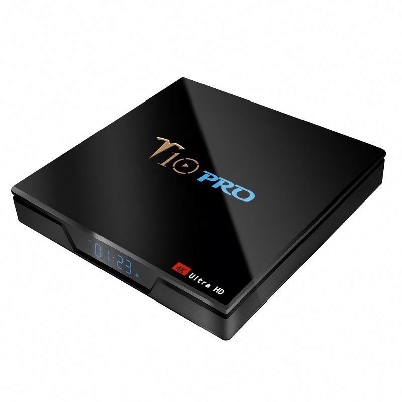 New Improved Android 8.1 Set Top Box T10 PRO S905X2 4G 64G Tv Receiver 4 K Multi Language Smart Tv Box