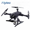 Flytec T22 Big Drone Folding RC Drones 2.4G 4CH 3D Flip Toys with Altitude Hold Quadcopter RC Helicopter RTF (Black)