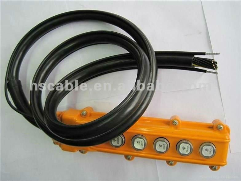 Steel Wire Pendant control Cable, Reeling Cable, Hoist Crane Control Cable