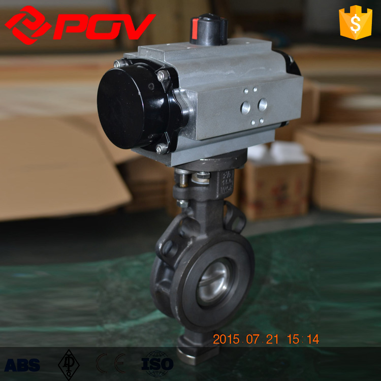 high performance fire protection pneumatic butterfly valve