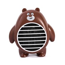 WholeSale Stock Small Order Cartoon Portable Desktop USB Fan Heater