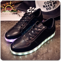 Newest Glow led waterproof shoe lights for shoes clothes wholesale for party events