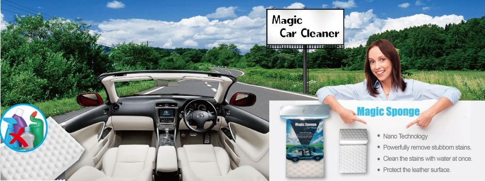 New Products 2017 Nano technology Professional Car Wash Cleaning Products Sponge
