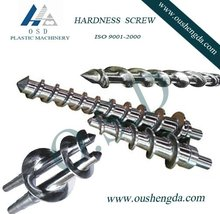 rubber extruder screw barrel for recyled rubber