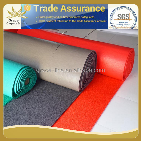 PVC plastic carpet roll for outdoor playground coil carpet