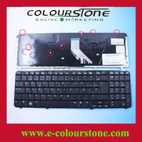 Brand New SPANISH Laptop Black Keyboard For HP DV6-1000 Keyboard SP Black MP-08A96E0-9201