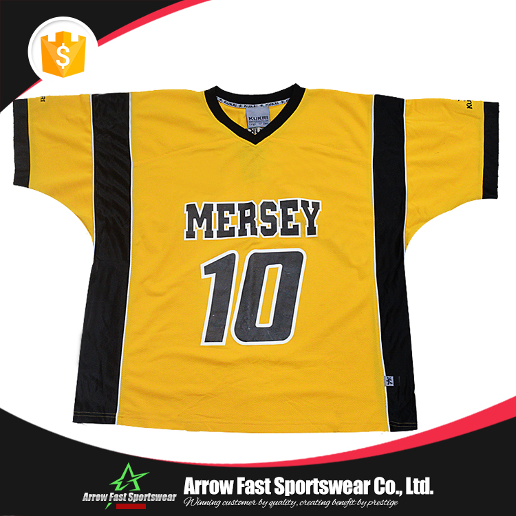Custom design ice hockey match jersey shirt