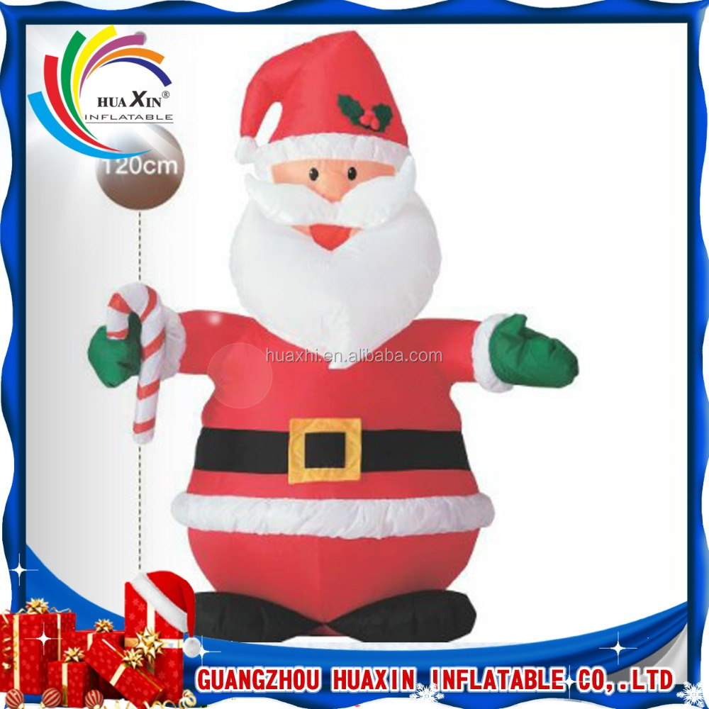 Wholesale Cheap price christmas decorating christmas inflatable santa clause for sale