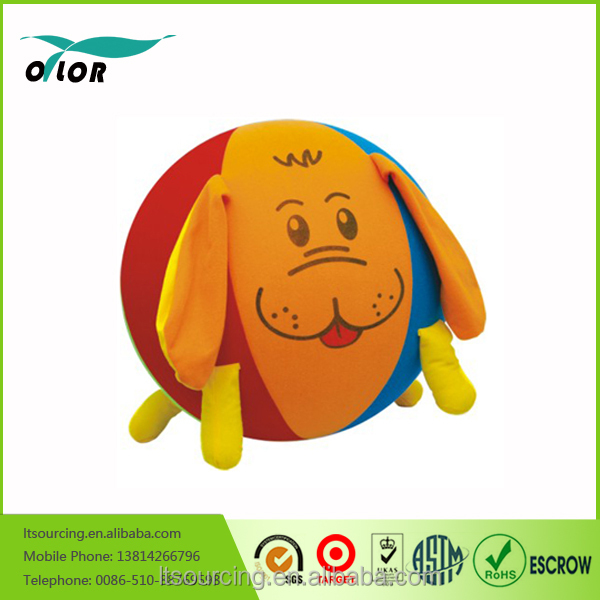 PVC Jumping Animal Toys For Kids Inflatable Jumping Animal