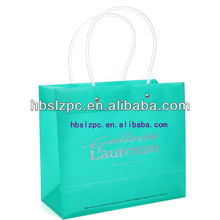 Cheap Advertising Promotion Shopping Bag Luxury Boutique Advertising Bag PP Gift Bag